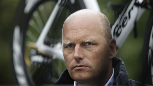 Bjarne Riis, lauréat du Tour de France 1996. [Bas Czerwinski - Keystone]