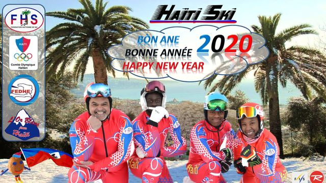 Le skieur Mackenson Florindo représente Haïti au JOJ. [Fédération Haïtienne de Ski]