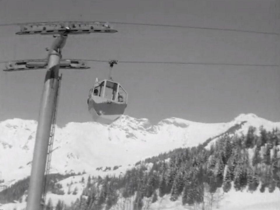 La station de ski des Diablerets. [RTS]