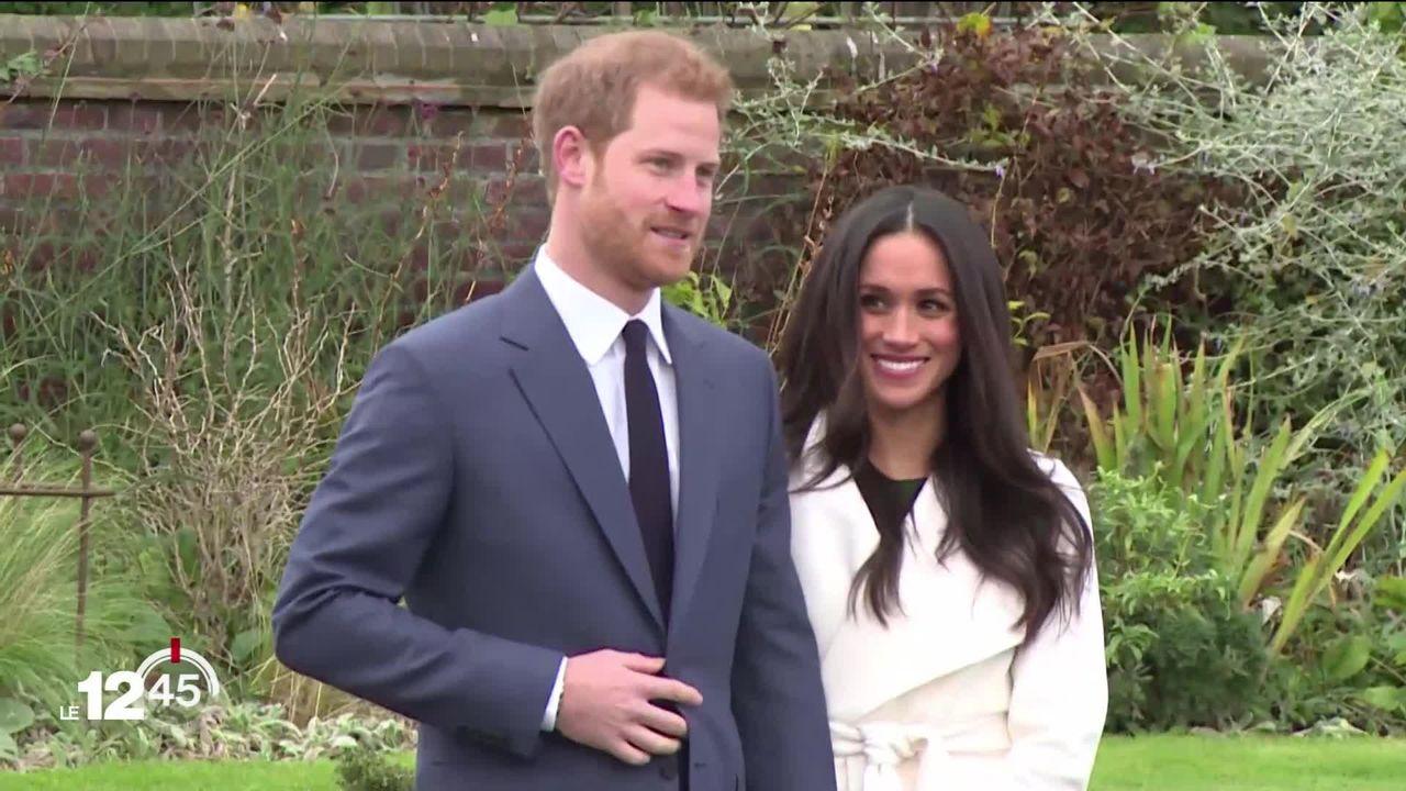 Annonce choc au Royaume-Uni: le Prince Harry et son épouse Meghan renoncent à leur rôle de premier plan dans la famille royale. [RTS]