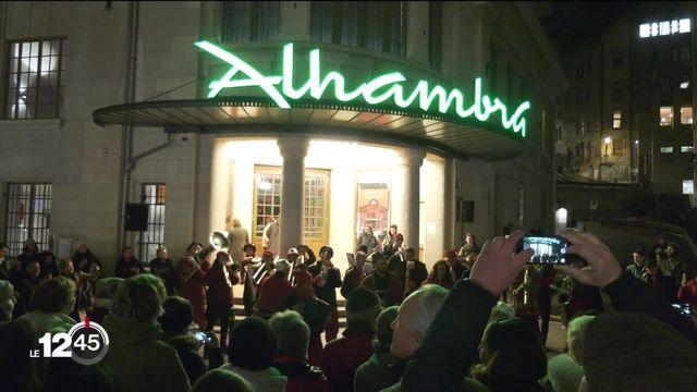L'Alhambra, salle mythique du vieux Genève, fête ses 100 ans. [RTS]