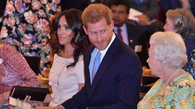 """Une """"indépendance financière"""" très relative pour Meghan et le prince Harry. [John Stillwell - Reuters]"""