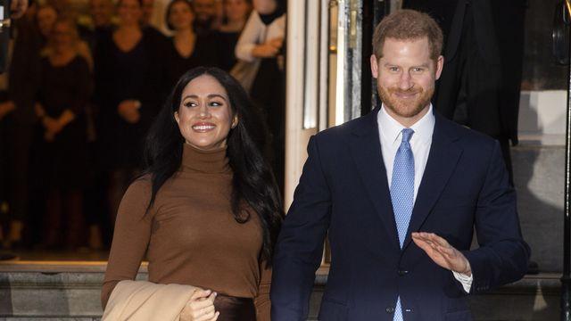 Meghan et Harry se distancient de la famille royale britannique. [Facundo Arrizabalaga - Keystone]