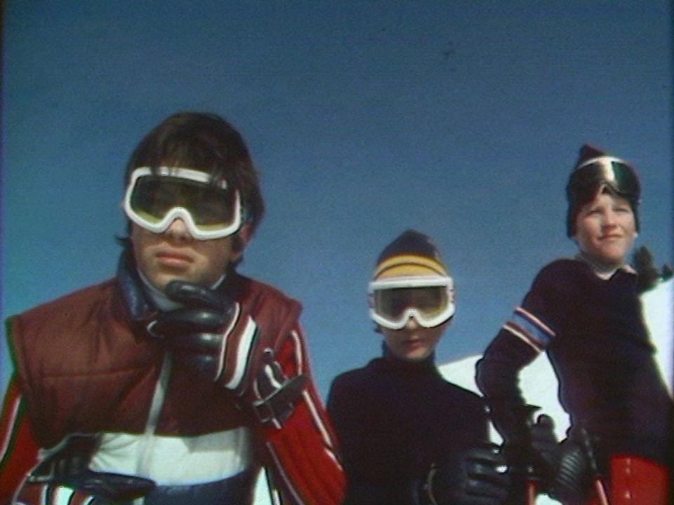 Les champions de demain à Villars-sur-Ollon en 1981. [RTS]