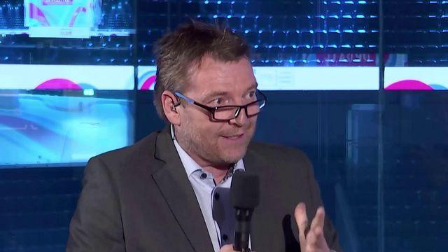 Joël Robert, rédacteur en chef adjoint des Sports à la RTS. [RTS]