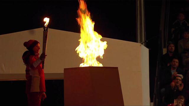 Les Jeux olympiques sont lancés à Lausanne! [RTS]
