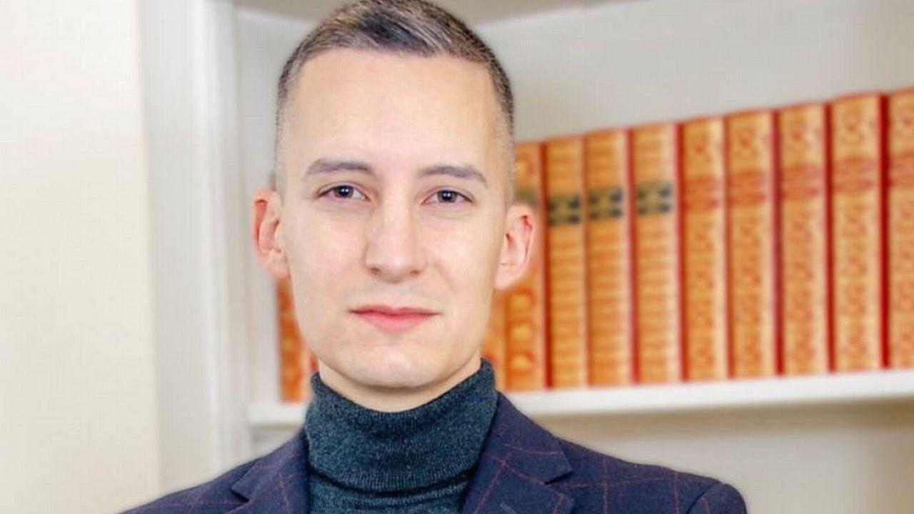 L'économiste Damiano Lepori, 29 ans, est le nouveau président du PDC fribourgeois. [Université de Fribourg]
