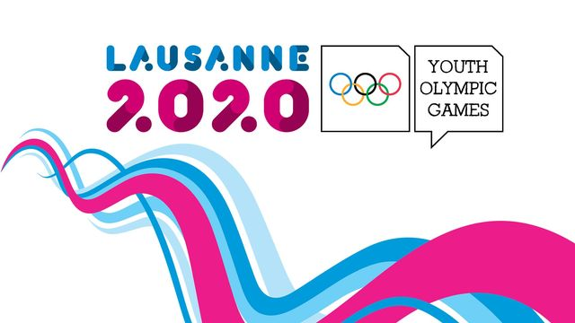 Lausanne 2020 - Logo EN 16:9