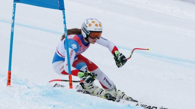 Amélie Klopfenstein a réussit une magnifique performance. [RTN.ch - SRI]