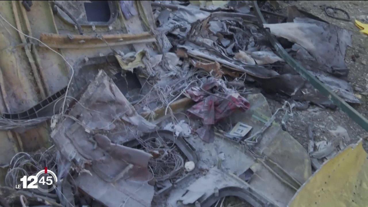Crash d'un avion de ligne ukrainien près de Téhéran: la thèse d'un missile sol-air soutenue par Justin Trudeau est contestée. [RTS]