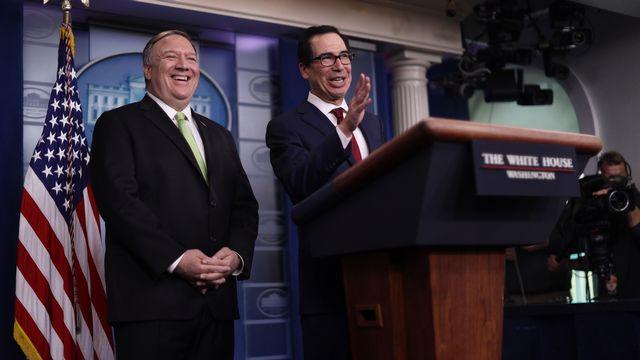 Washington dévoile ses nouvelles sanctions contre l'Iran. [Alex Wong - AFP]