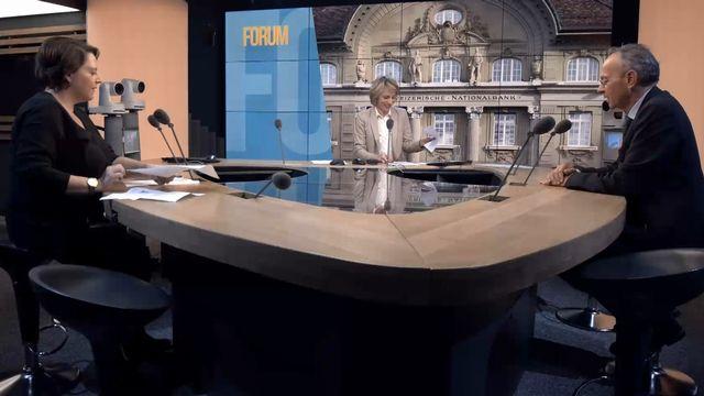 Débat entre Ada Marra et Olivier Français. [RTS]