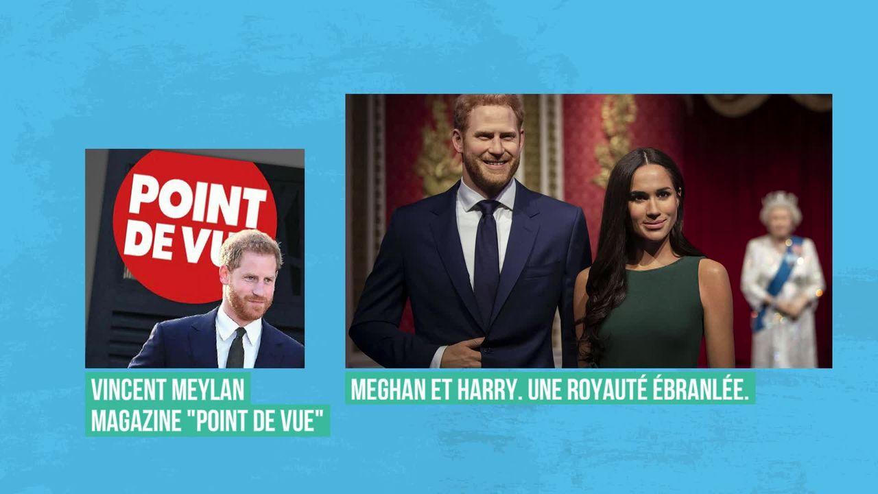 L'annonce de Meghan et Harry ébranle la royauté: interview de Vincent Meylan [RTS]