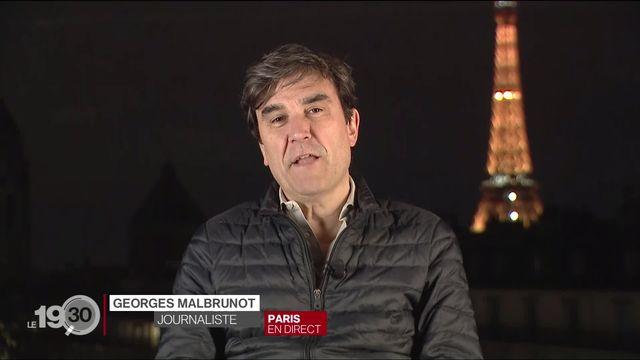 """Georges Malbrunot """"La population iranienne est en colère, on le voit sur les réseaux sociaux. Il y a une fracture avec le régime."""" [RTS]"""