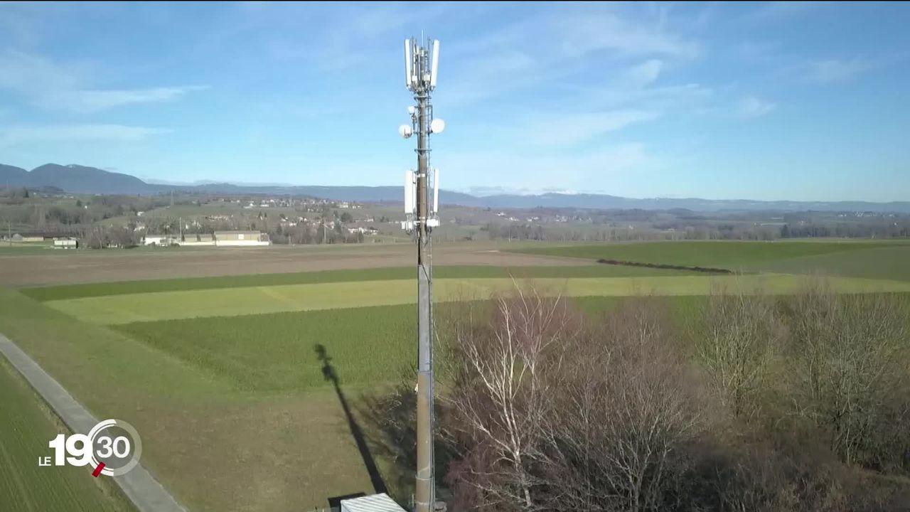 """Dernier épisode """"Enjeux 2020"""": le nombre d'antennes 5G a quadruplé en ce début d'année. [RTS]"""