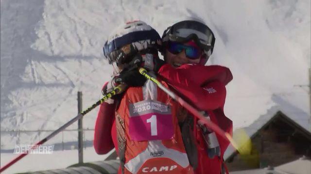 JOJ, Ski alpinisme: les Suisses prennent l'or et l'argent, au féminin comme au masculin [RTS]