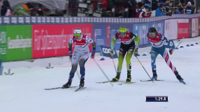 Dresde (GER), Sprint dames: victoire de la jeune Linn Svahn (SWE) [RTS]
