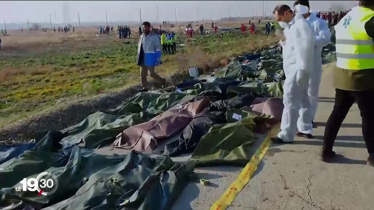 Téhéran admet que le crash du Boeing d'Ukraine Airlines est dû à un tir de missile et évoque un acte accidentel [RTS]