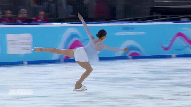 JOJ Lausanne 2020, patinage artistique: meilleure score personnel pour Anaïs Coraducci (SUI) [RTS]