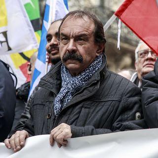 Philippe Martinez, secrétaire général de la CGT. [Christophe Petit Tesson  - EPA/KEystone ]