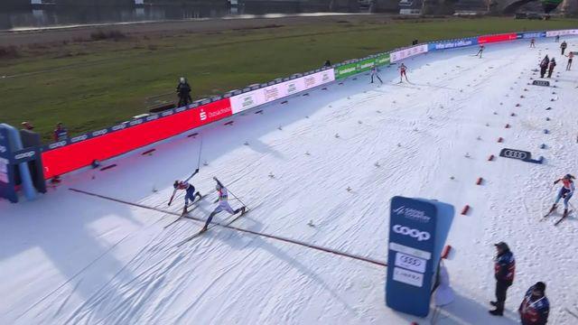 Dresde (ALL), sprint par équipes dames: les Suédoises s'imposent, les Suissesses terminent 2e [RTS]