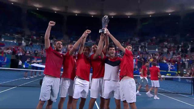 Finale, Djokovic-Troicki (SRB) – Carreno Busta-Lopez (6-3, 6-4): la Serbie remporte l'ATP Cup! [RTS]