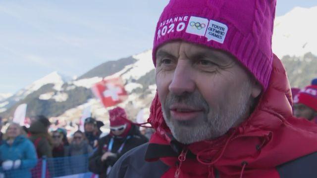 JOJ: André Klopfenstein, papa d'Amélie, à l'interview [RTS]