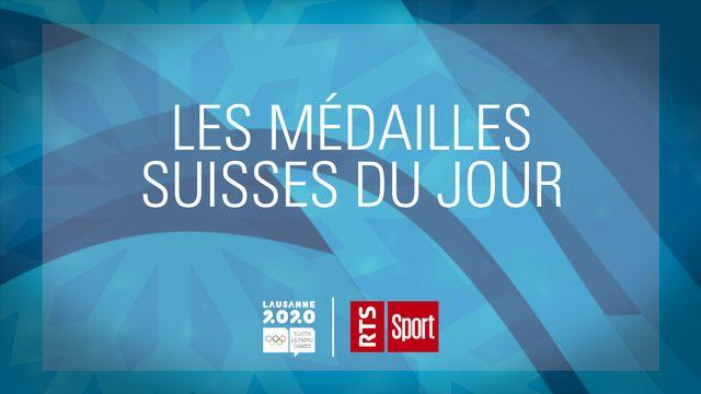 JOJ, jour 3: Amélie Klopfenstein continue sa moisson de médailles! [RTS]