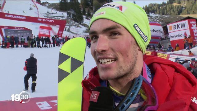 En ski alpin, le Valaisan Daniel Yule a remporté le slalom d'Adelboden devant l'Autrichien Henrik Kristoffersen [RTS]