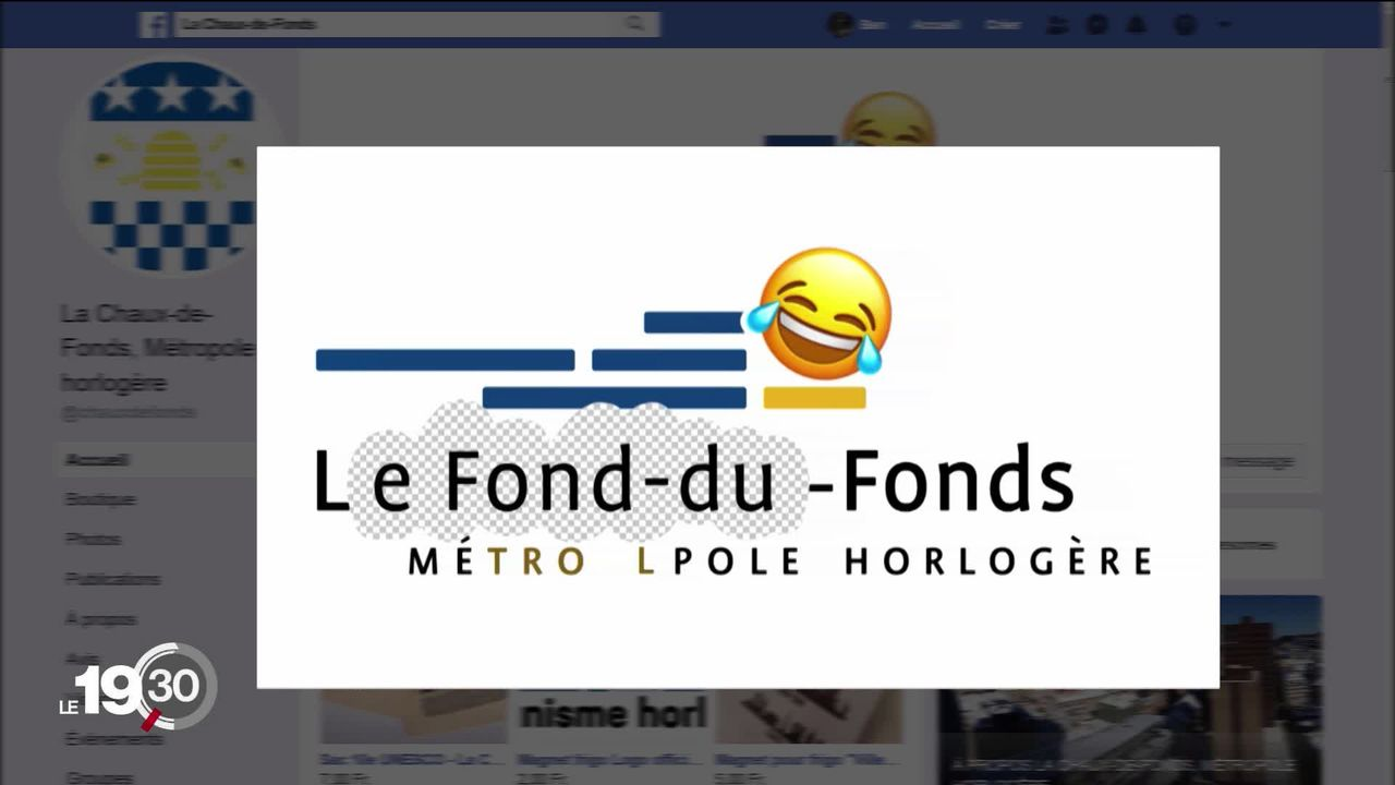 Une opération de communication orchestrée par la ville de La Chaux-de-Fonds crée le débat [RTS]