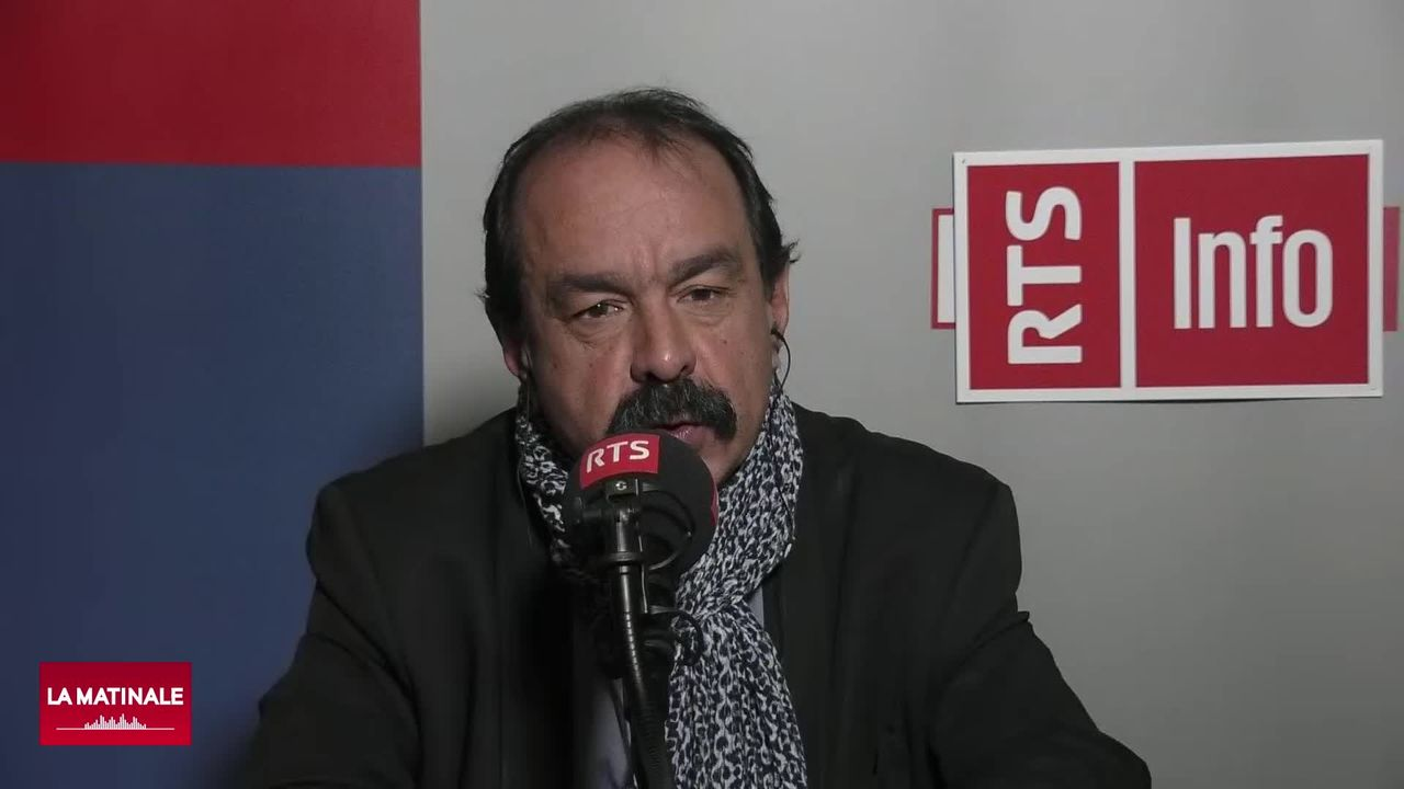 L'invité de La Matinale (vidéo) - Philippe Martinez, le secrétaire général de la CGT [RTS]