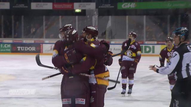 Hockey: Berne - genève (3-2) le résumé du match [RTS]