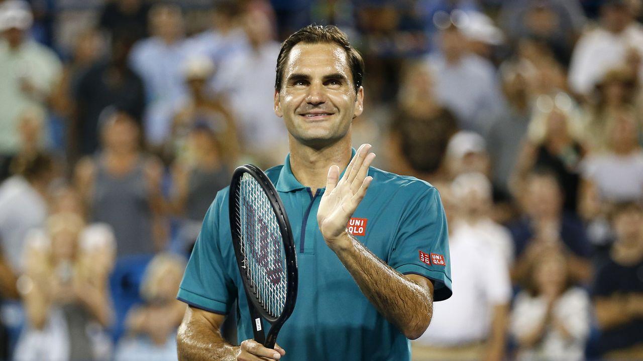 Roger Federer. [Sam Greene - Keystone]