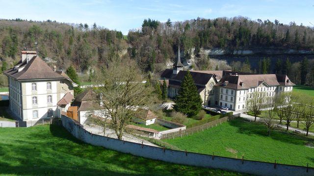 L'Abbaye cistercienne de Hauterive. [Virginie Brawand - RTS]