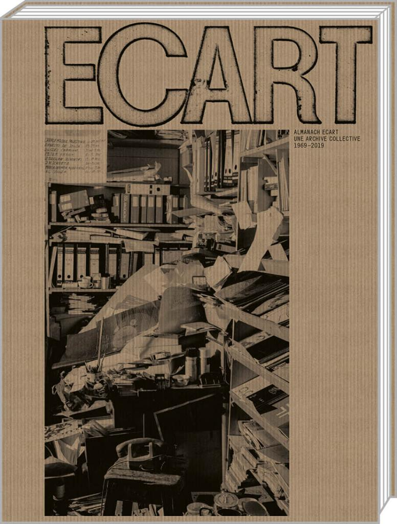 "Couverture de ""Almanach Ecart: une archive collective 1969-2019""."