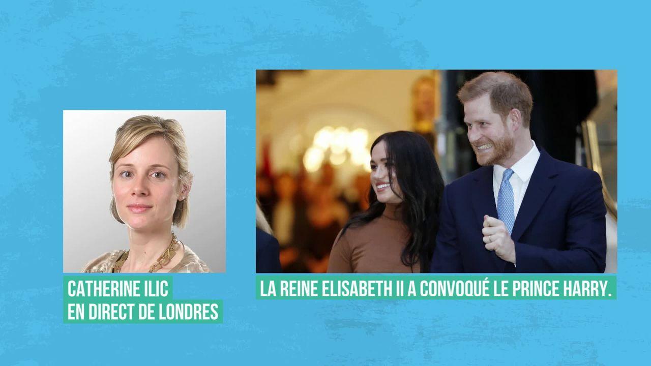 """Réunion de crise de la famille royale britannique pour résoudre le """"Megxit"""" [RTS]"""