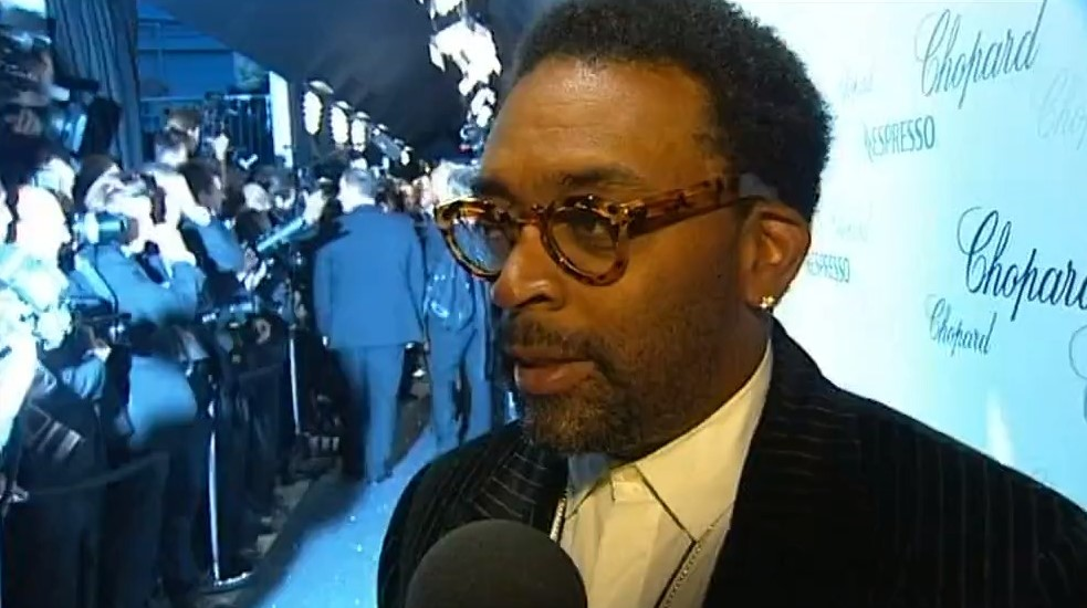Spike Lee à Cannes en 2008