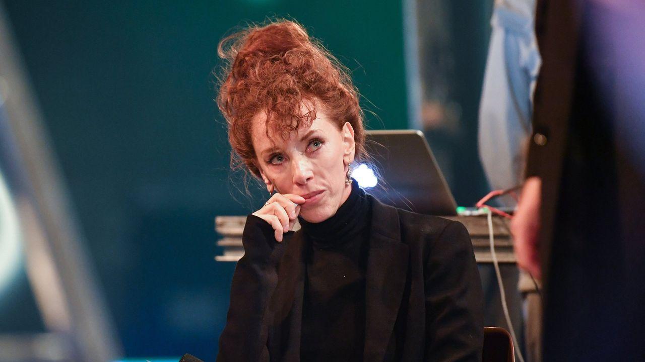 L'auteure alémanique Sibylle Berg à Berlin en 2018. [Jens Kalaene - Keystone]