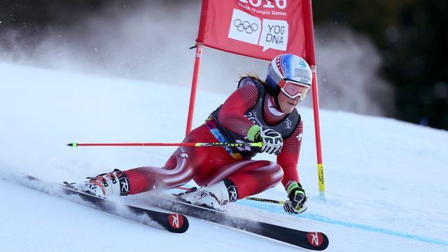 Mélanie Meillard avait glané deux médailles en 2016. [Arnt Folvik - Keystone]