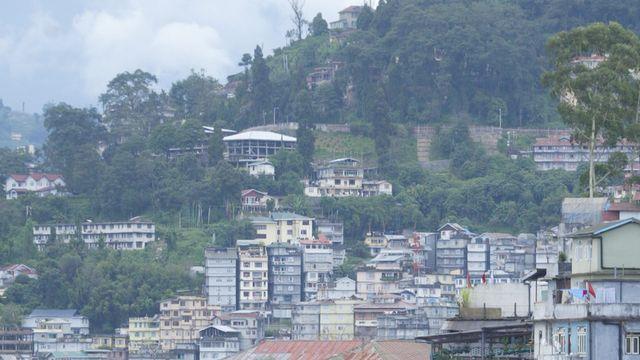 Gantok est la capitale de l'Etat indien du Sikkim, qui a interdit l'utilisation d'engrais chimiques dans l'agriculture. [Mustafa Quraishi - AP Photo/Keystone]