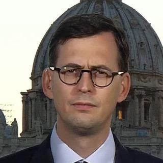 """Selon Nicolas Senèze, correspondant de """"La Croix"""" au Vatican, le Pape a reconnu sa maladresse. Il tenait à l'accompagnement. [RTS]"""
