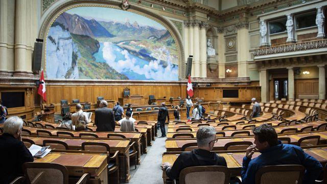Le Parlement fédéral. [Keystone]