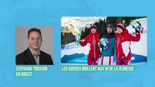JOJ : les athlètes suisses premiers au classement des médailles [RTS]
