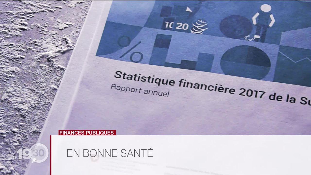En matière de finances publiques, la Suisse fait figure d'eldorado selon le rapport de l'Administration fédérale des finances. [RTS]