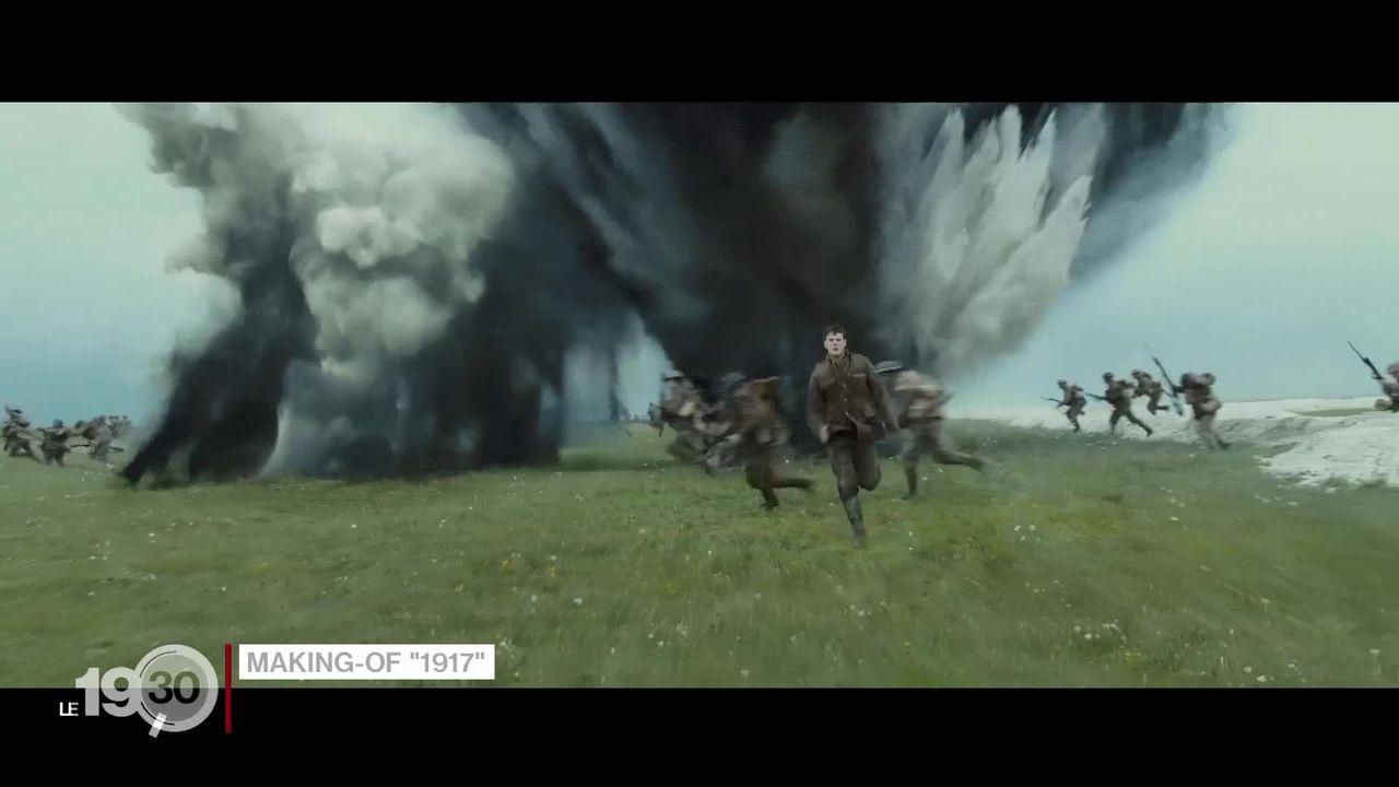 """""""1917"""" de Sam Mendes, une immersion au coeur de l'horreur des tranchées et du carnage industriel de la première guerre mondiale. [RTS]"""
