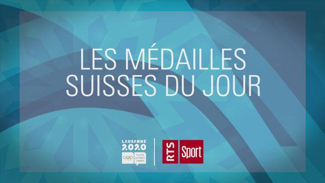 JOJ, jour 5: trois nouvelles médailles pour la délégation suisse! [RTS]