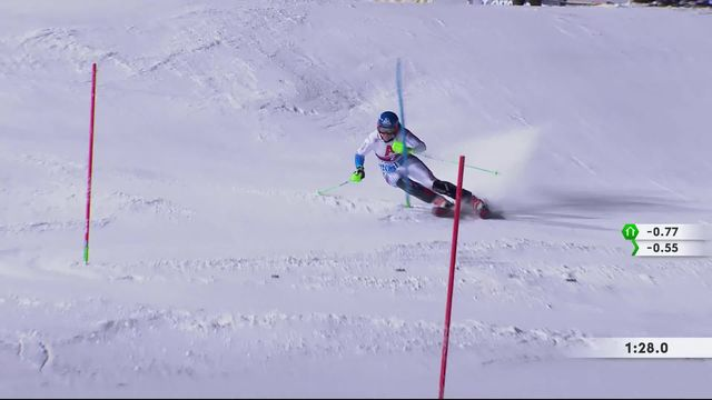 Flachau (AUT), slalom dames: Petra Vlhova (SVK) s'impose! [RTS]