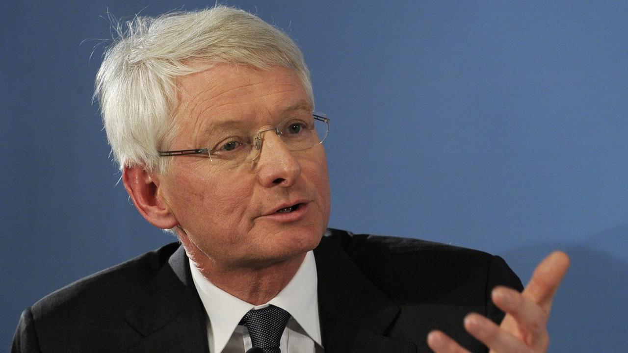 Jean-Pierre Danthine, ancien vice-président de la BNS et actuel codirecteur du Collège du management de la technologie de l'EPFL. [Steffen Schmidt - Keystone]