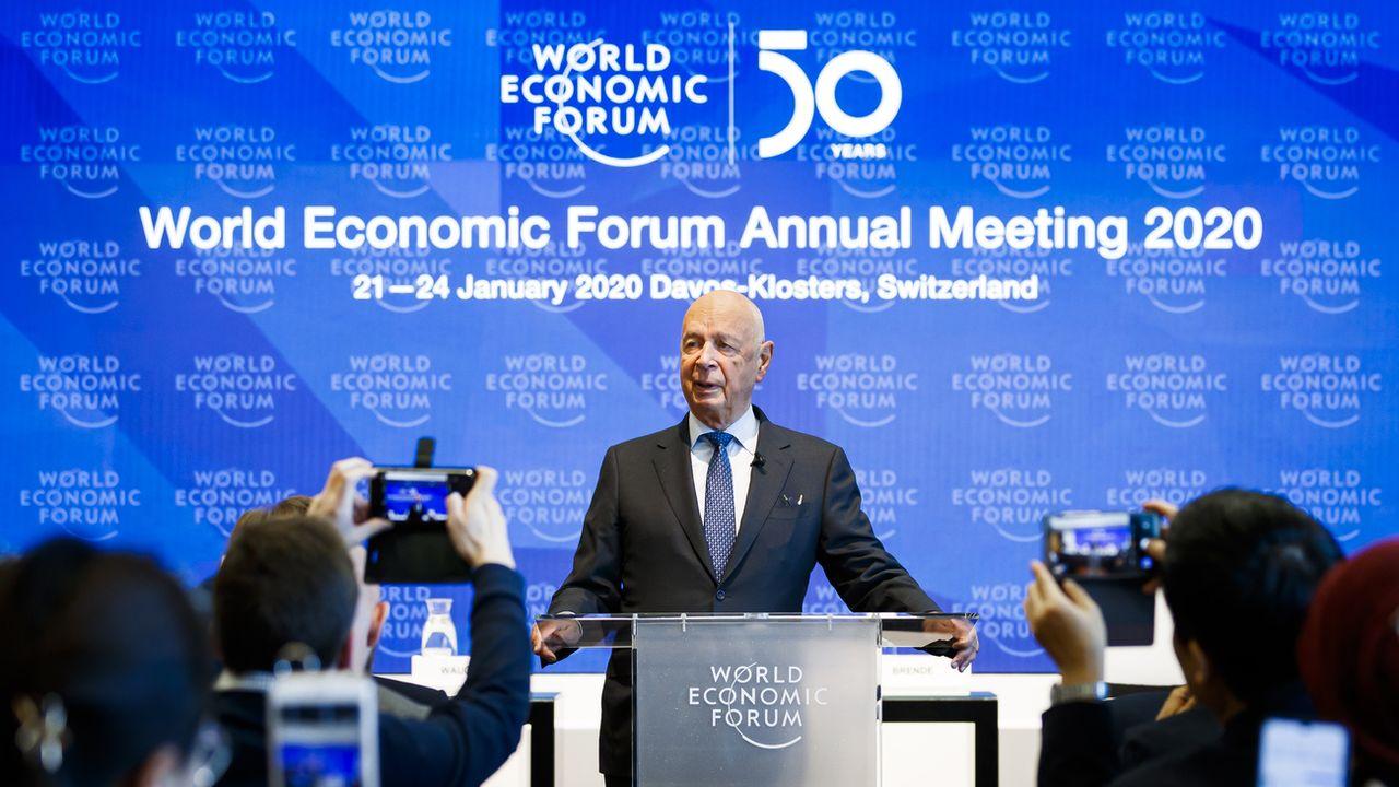 Le 50e Forum économique mondial (WEF) tient conclave à Davos du 21 au 24 janvier 2020. [Valentin Flauraud - Keystone]