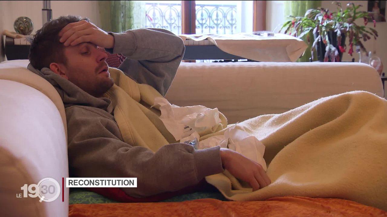 La grippe se propage en Suisse romande. Le point sur les moyens d'y faire face et essayer de l'éviter. [RTS]